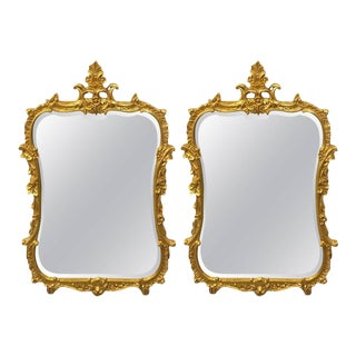 Friedman Brothers Chippendale Console Mirrors - A Pair