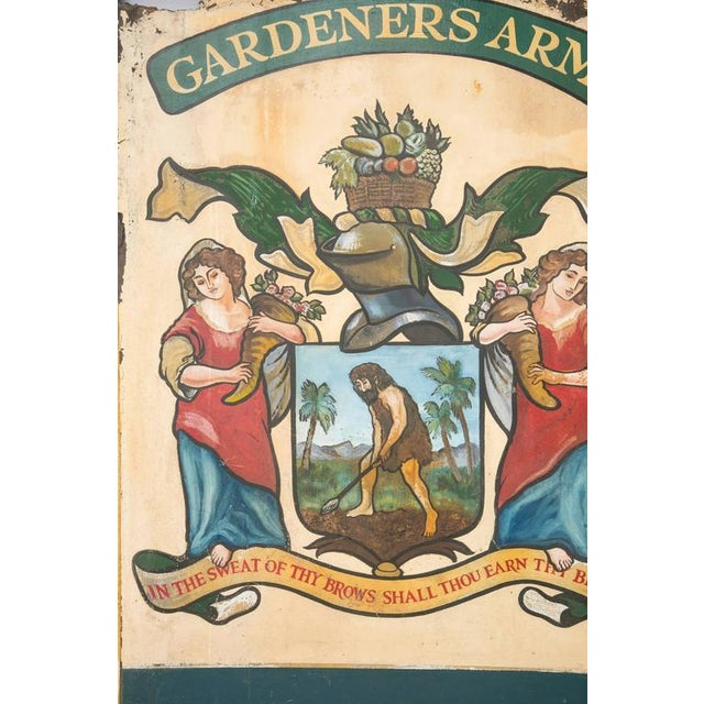 """English Pub Sign """"Gardeners Arms"""" - Image 4 of 7"""