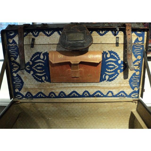 Antique Storage Trunk - Image 10 of 11