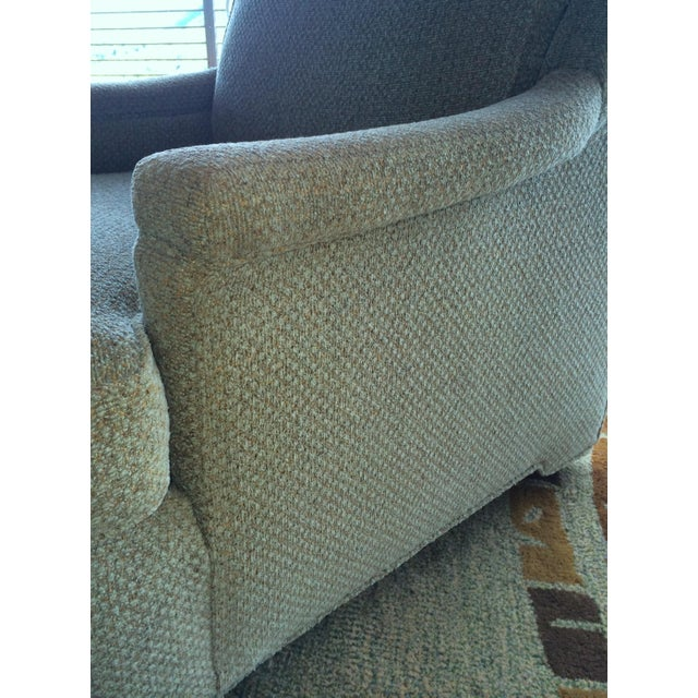 Pair of Tall Back Lounge Chairs in the Manner of Dunbar - Image 7 of 7