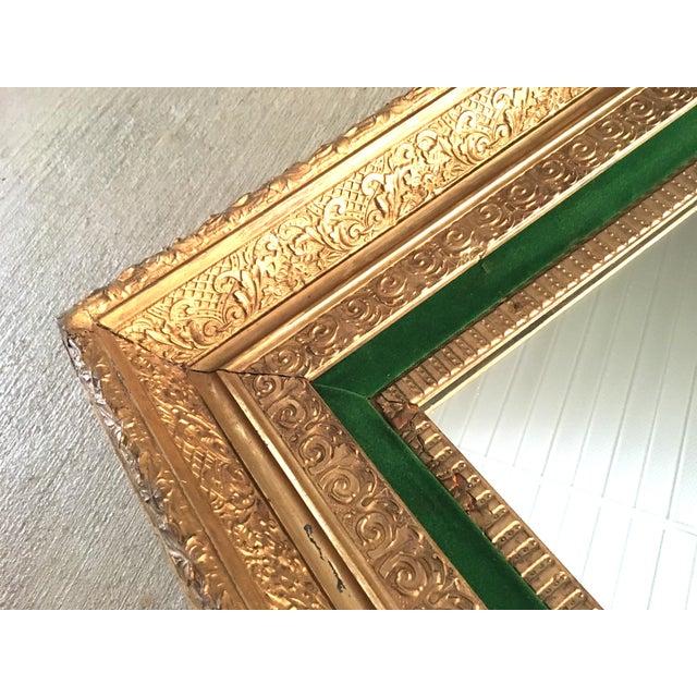 Antique Gilt Wood & Gesso Framed Mirror - Image 4 of 5