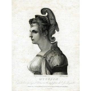 Antique 1787 Zenobia Print