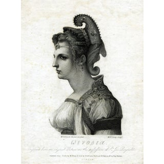 Antique 1787 Zenobia Print
