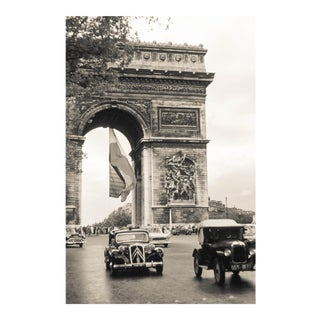 1950s Vintage Paris Black & White Photo Print
