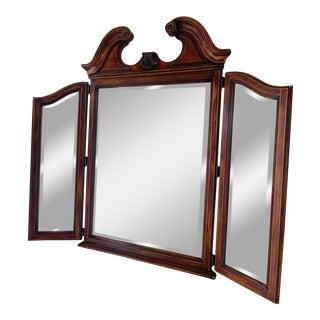 Vintage Tri Fold Wall Mirror