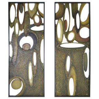 "Architectural Panels by Richard Boprae, ""Rhythm"""