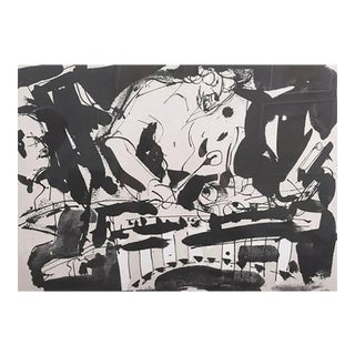 Malcolm Morley Abstract Expressionist Lithograph, 1983