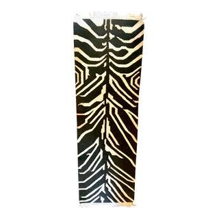 "Vintage Zebra Kilim Runner Rug - 2'8"" x 8'"