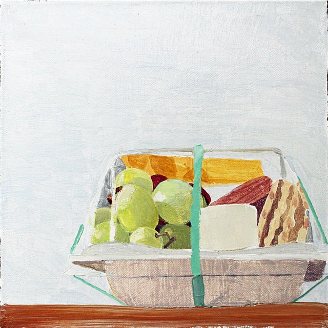 Still Life with 'Picnic for One', oil on linen by Sydney Licht - Image 2 of 2