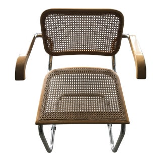 "1950""s ""Cesca"" chair by Marcel Breuer. Gavina production."