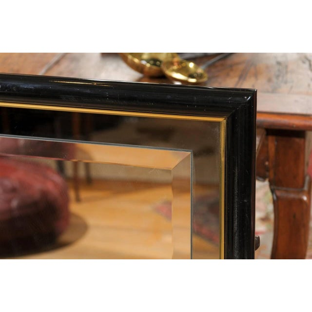 Smoked & Beveled Glass Wall Mirror - Image 4 of 4