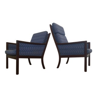 Ole Wanscher for P. Jeppesen Lounge Chairs, 3 Available, Each