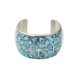 Vintage Native American Style Cuff Bracelet III