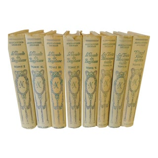 Alexandre Dumas French Book Collection - 8 Vol.