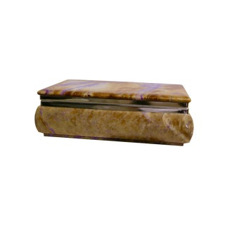 Vintage Italian Alabaster Box