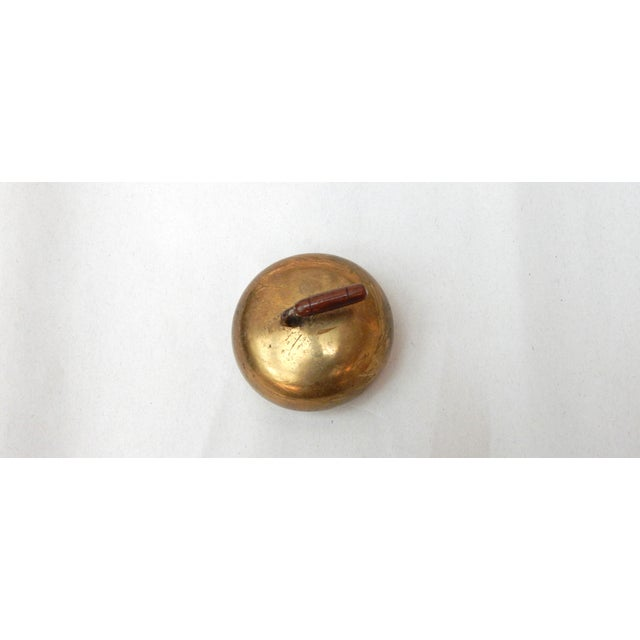 Brass Curling Stone Paperweight - Image 2 of 3