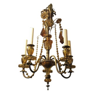 1920 French Venetian Style Chandelier