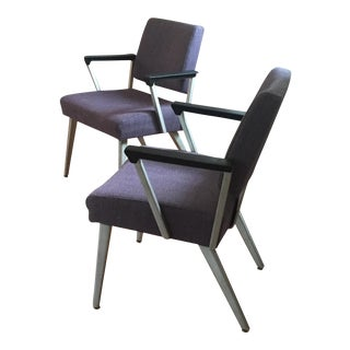 Mid-Century Guest Chairs - A Pair