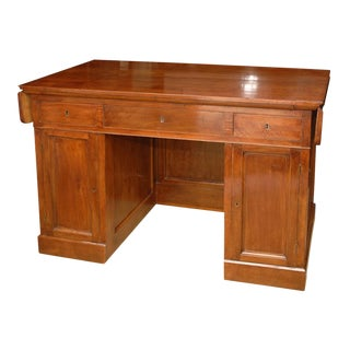 Italian Walnut Directoire Desk