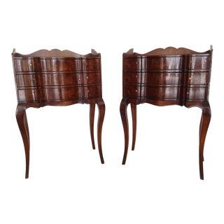 Vintage Italian Style Tables - A Pair