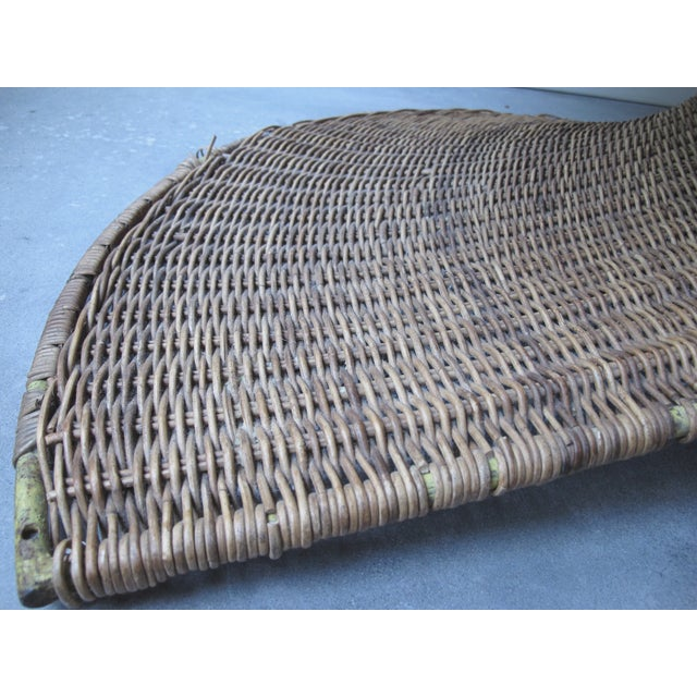 Miller Yee Fong Lotus Chair: 1960s Wicker Lounge - Image 10 of 11