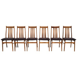Mid Century Danish Teak Dining Chairs- Set of 6
