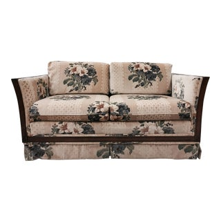 Vintage Cane Panel Loveseat
