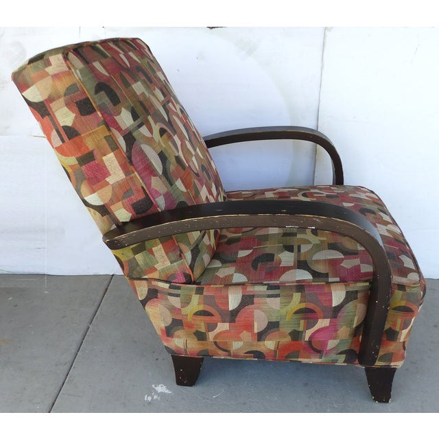 Mid-century Modern Donghia Style Lounge Chair - Image 4 of 8