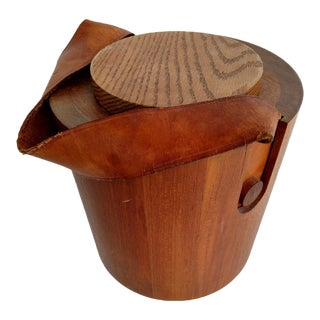 Vintage Wooden Nissen Ice Bucket