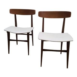 Danish Modern Side Chairs - A Pair