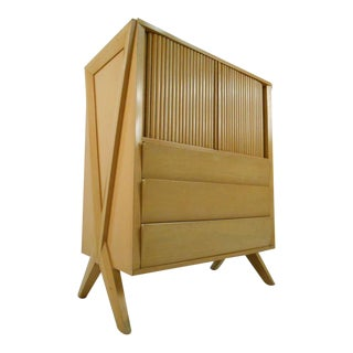 Tall Mid-century Modern Dresser Paul Laszlo Style