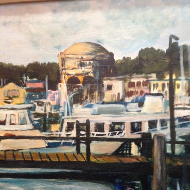 Palace of Fine Arts, San Francisco - Oil on Board - Image 3 of 6