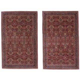 Pair of Fine Sivas Rugs