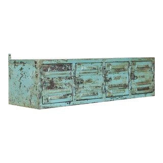 Vintage Industrial Wall Locker