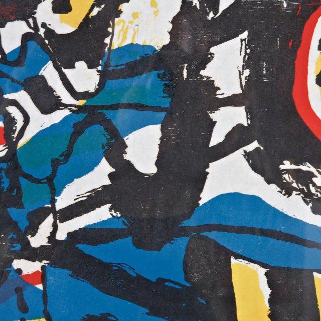 """J. Diedren """"Kinderen Tussen Het Blaw"""" Lithography, 1965 - Image 5 of 10"""