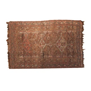 "Antique Kamseh Rug - 4'6"" x 6'8"""