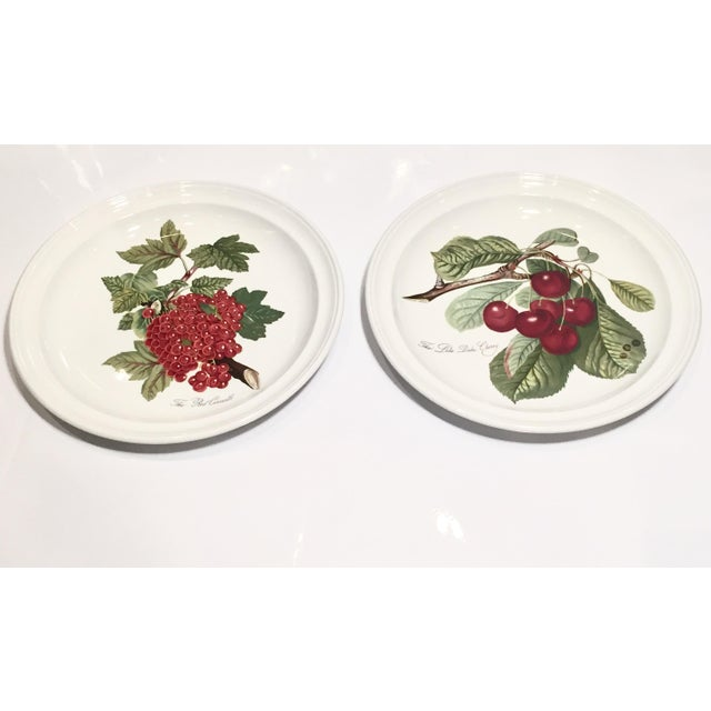 "Pomona Portmeirion ""The Goddess of Fruit"" Plates- Set of 2 - Image 2 of 5"