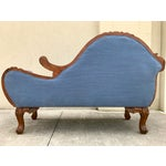 Image of Antique Carved Wood Chaise