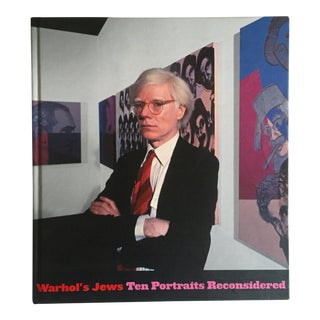 """Warhol's Jews 10 Portraits Reconsidered"" 1st Edtn Exhibition Art Book"