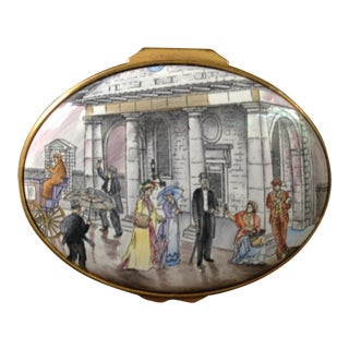 Halcyon Days Enamel Pillbox