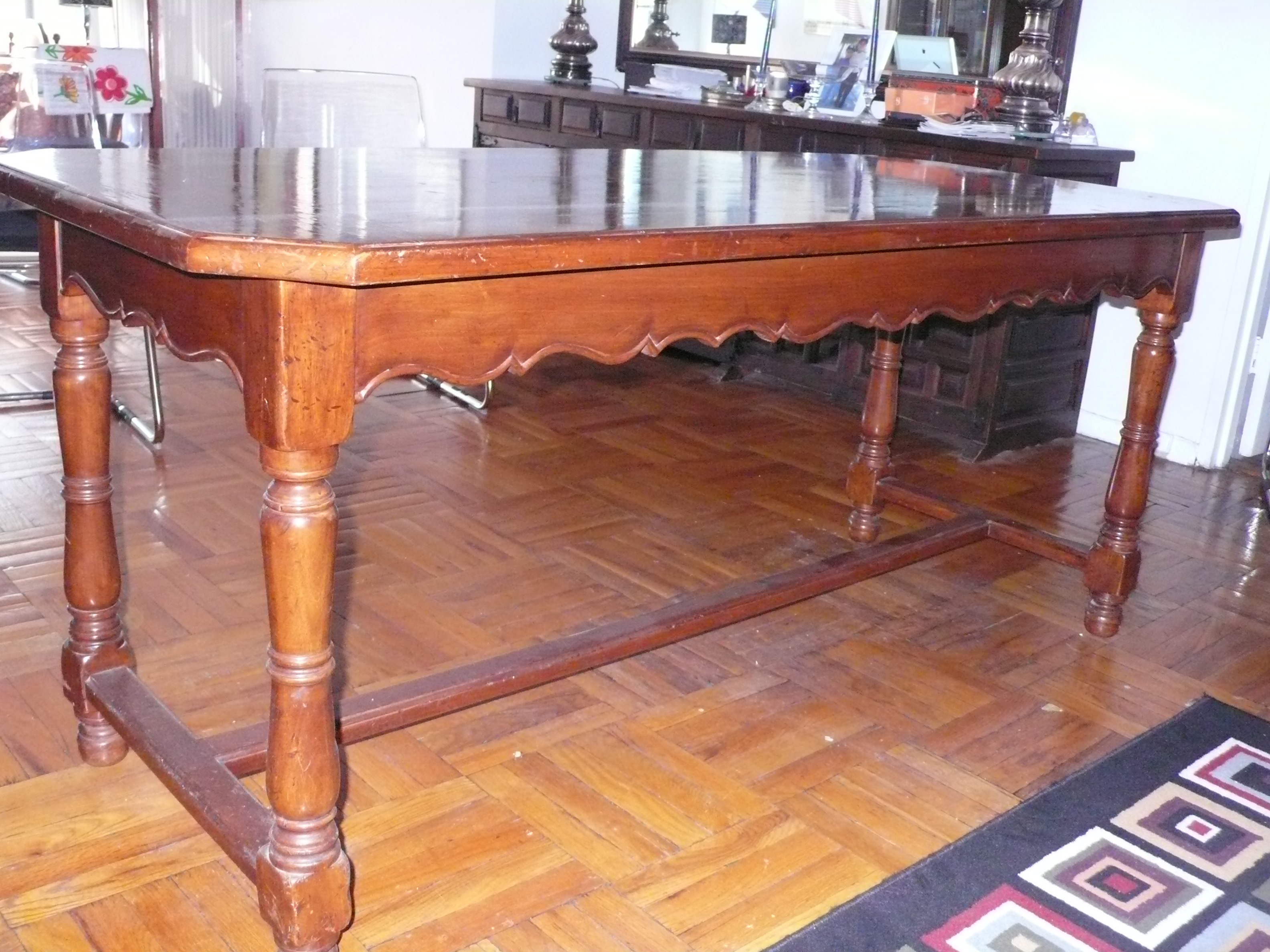 French Provincial Italian LibraryDining Table Chairish : french provincial italian librarydining table 1097aspectfitampwidth640ampheight640 from www.chairish.com size 640 x 640 jpeg 58kB