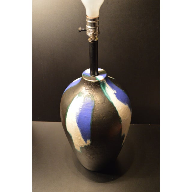 Image of Bitossi Mid-Century Pottery Table Lamp