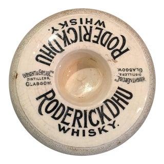 Antique Match Strike from Whiskey Distillery in Glasgow