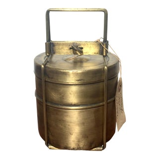 Antique Indian Tiffin