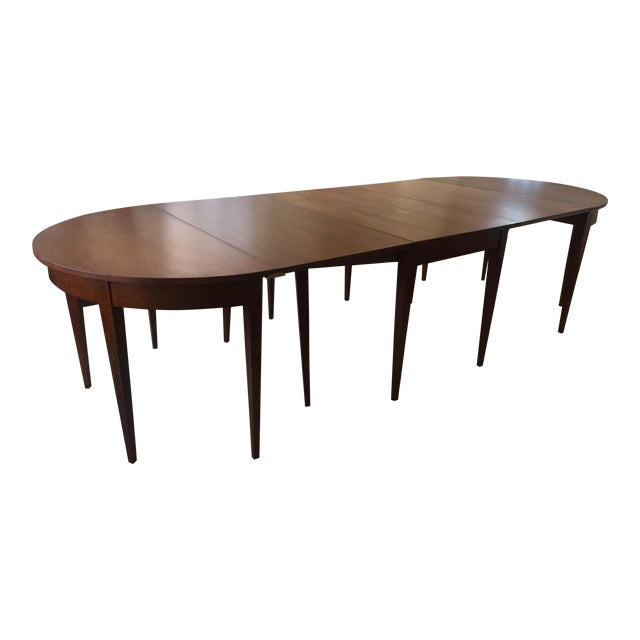 Vintage Dining Room Tables: Vintage Mahogany Expandable Dining Room Table