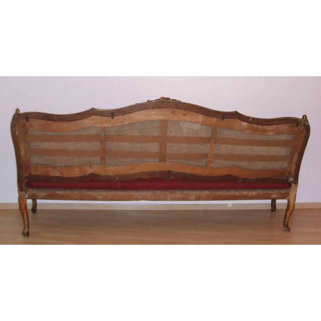 Extraordinary Pair of Louis XV Settees - Image 4 of 5
