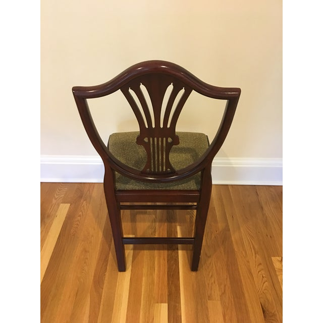 Image of Antique Mahogany Dining Chair - Set of 8