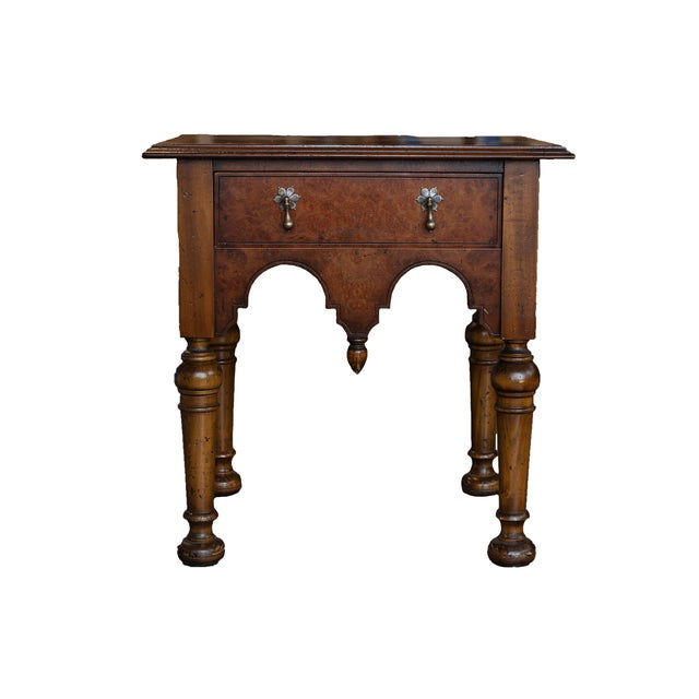 Yorkshire Rosewood Stained End Table - Image 1 of 6
