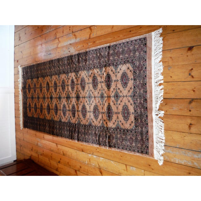 Knotted Persian Oriental Rug - 3′5″ × 8′2″ - Image 3 of 9