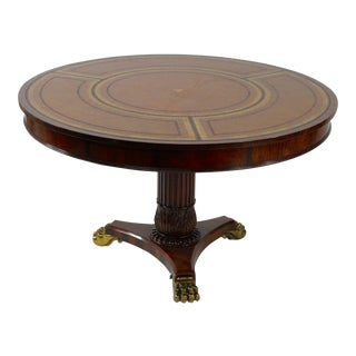 Maitland Smith Mahogany Center Table
